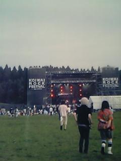 KOIWAI ROCK FES@岩手県小岩井農...