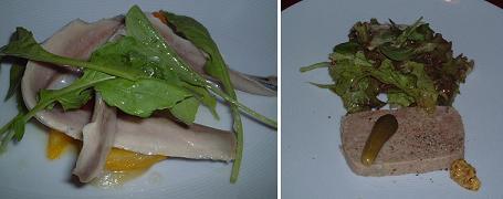 『La tripe』の前菜