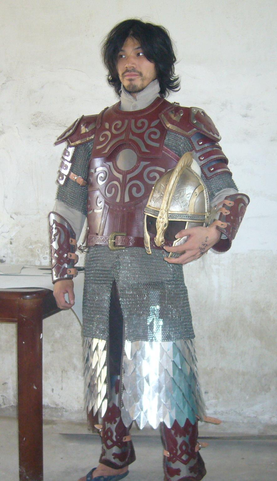 height 5 5 feet 165 cm eomer armor. Black Bedroom Furniture Sets. Home Design Ideas