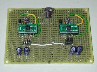Stereo Class-D amp