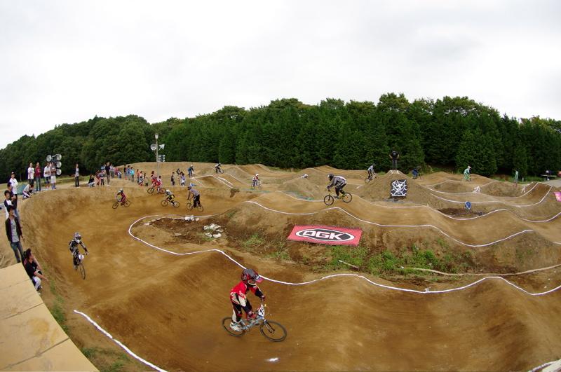 BMXコースの風景