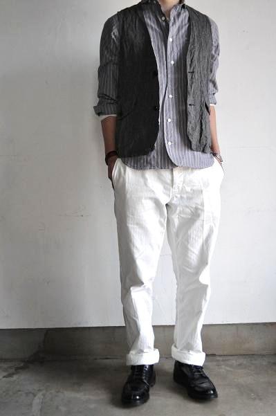 STILL BY HAND/スティルバイハンド Linen Vest