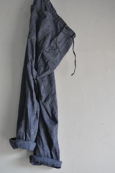 OMNIGOD/オムニゴッド Pincheck Work Easy Pants