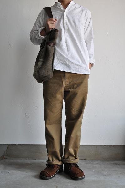 STILL BY HAND/スティルバイハンド Work Trousers