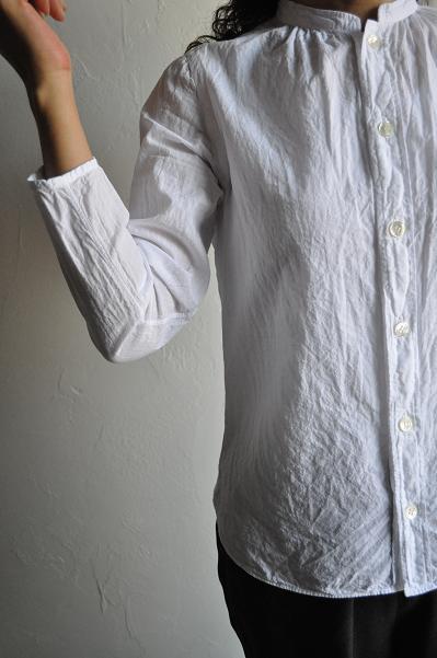 gauche / ゴーシュ ライトスラブ スタンドシャツ