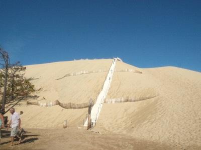 France・Arcachon-Dune du Polat-<b>ピラ砂丘</b> : point de vue
