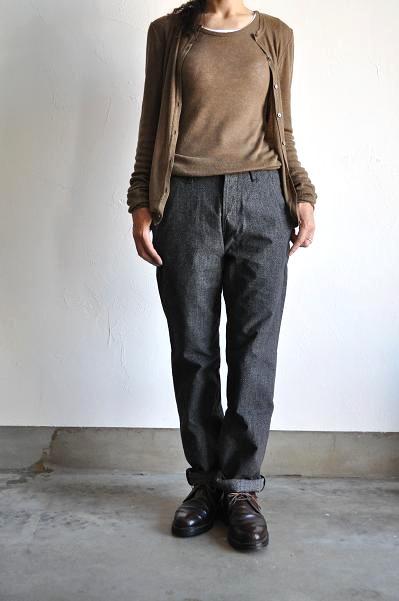 TANG/タング T / L 14G Circular Knit Cardigan