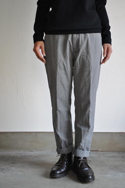 gauche / ゴーシュ C/W Herringbone Trousers