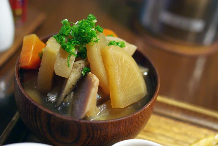 ... Grocery Trekker: >kenchin vegetable soup けんちん汁 kenchinjiru