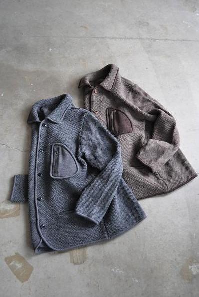 KATO' /カトーデニム ニットカバーオール/Knit Coverall