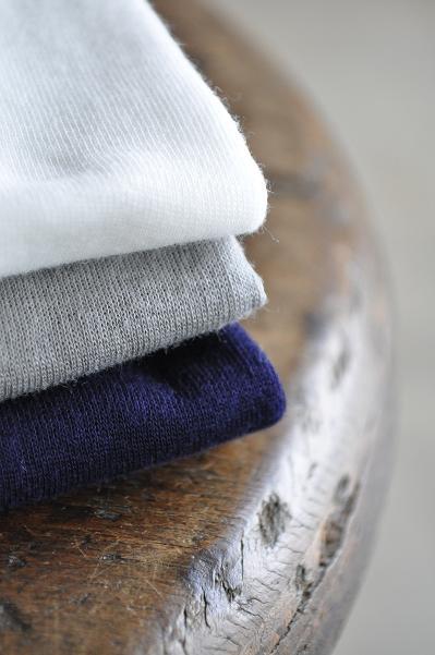 gauche / ゴーシュ オーガニックフライス ロングスリーブ Organic Fraise Long Sleeves<br />