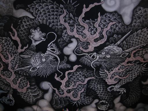 京都・建仁寺の双龍図