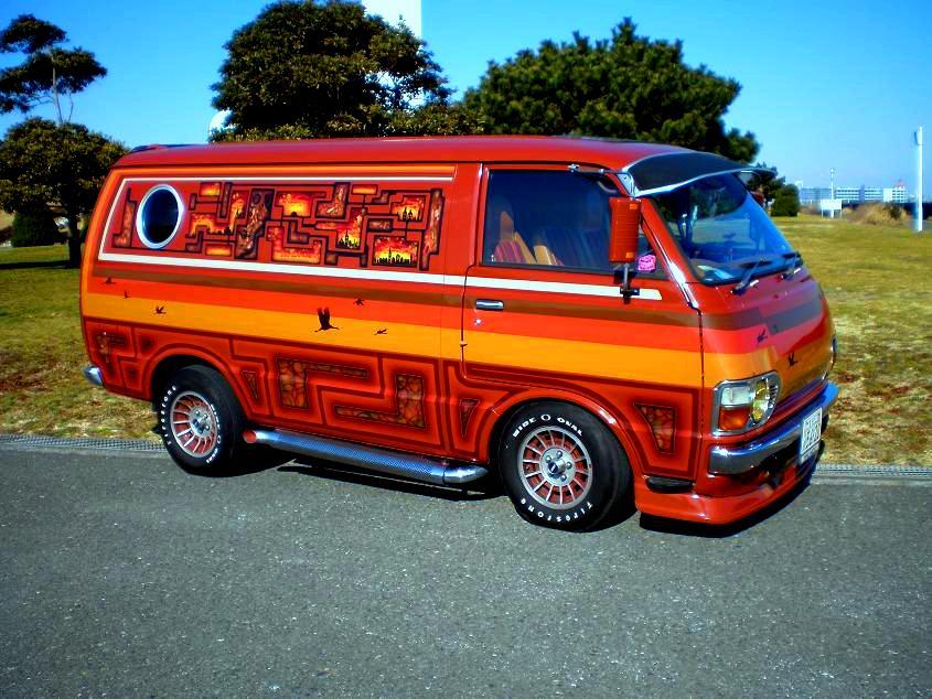 Toyota Hiace Rh23g Vanning Old Van Archives