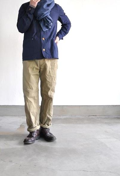 OMNIGOD/オムニゴッド リバースチノ ワークパンツ/Reverse Chino Work Pants
