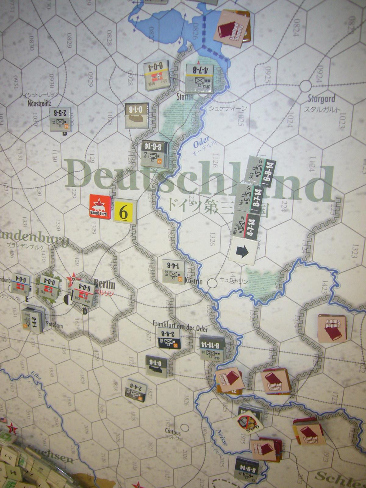 Vistula Oder Berlín 1945