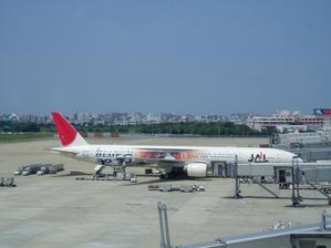 日本航空(福岡→羽田) -