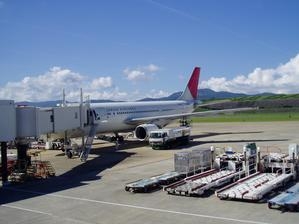 日本航空(長崎→羽田) -