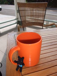 ガスパール in Hula Bean Coffee - Hawaiian LomiLomi  ハワイのおうち 華(レフア)邸