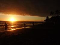 そしておなじみ サンセット  Ho'okena Beach - Hawaiian LomiLomi  ハワイのおうち 華(レフア)邸