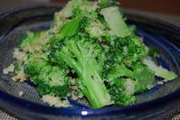 ブロッコリーのカリカリサラダ - 料理研究家ブログ行長万里  日本全国 美味しい話