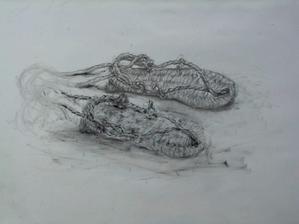 草鞋 - 『ヤマセミの谿から・・・ある谷の記憶と追想』