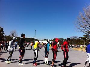 東京マラソン終わって - ゆび先からかかとまで