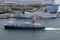 南港かもめFT跡に琉球海運らが進出 - 船が好きなんです.com