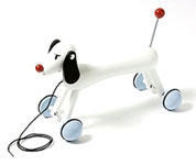 奈良美智: Nara wooden toy My Sweet Dog - Satellite