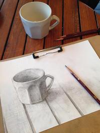鉛筆デッサンの会@四ツ谷 3/26(日) - 造形+自然の教室  にじいろたまご