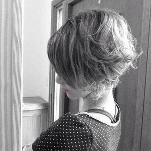 くせ毛 ショートカット 脱!ストレート 梅雨 髪型 さくら市 美容室エスポワール - 美容室エスポワール