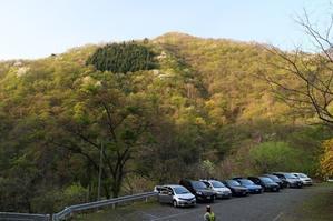 天理岳 お勧めできない稜線歩きと、ルーファイ 2014.4.27 - 山風香雲