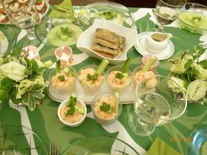 新緑のガーデンブランチでおもてなし - ベルエポックの休日   パリジェンヌになりたい KOBEフレンチライフスタイル