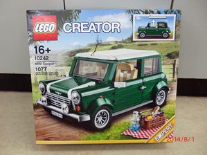 レゴ クリエイター ミニクーパー 10242 - Indoor-Outdoor(笑)を提唱する?オヤジのBlog