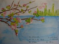 桜をまちながら * En attendant la floraison des cerisiers - ももさへづり*うた暦*Cent Chants d' une Chouette