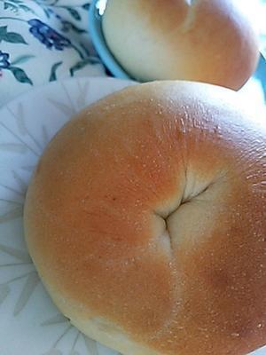 ベーグルの朝ごパン -