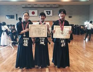 志免心正会記念大会 - 『練習で泣き試合で笑う』 親子剣道日記