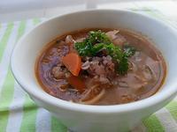 雑穀米入りのミネストローネで朝ごはん - 料理研究家ブログ行長万里  日本全国 美味しい話