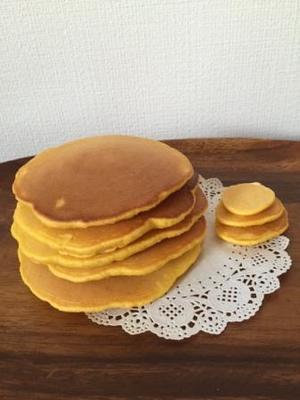 今日のおやつ ホットケーキ - おうちで楽しむキッズクッキング*