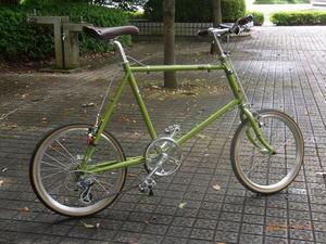 tea greenの自転車 - da?de?ba!