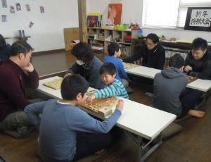 新年将棋大会 - あとりえ絵日記