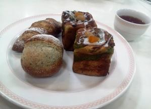 パン講師セミナー☆お茶づくしのパン3種 - パンのちケーキ時々わんこ
