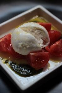 トマトのクロテッドクリーム和え - Happy Days
