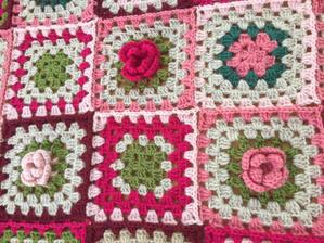 【完成】みんなで編む薔薇のブランケット! - Crochet with Ricky