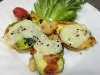ズッキーニのトマトピカタ 枝豆ソース - ナチュラル キッチン せさみ & ヒーリングルーム セサミ