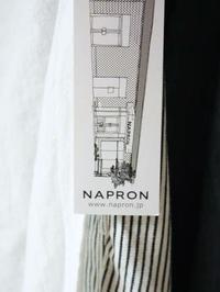 NAPRON ATELIE WORKCOAT Ⅱ - 【Tapir Diary】神戸のセレクトショップ『タピア』のブログです