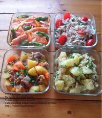 イエシゴトVol.164 食材使い回しの常備菜作り - YUKA'sレシピ♪