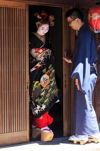中支志・小なみさん お見世出し(祇園甲部) - 花景色-K.W.C. PhotoBlog