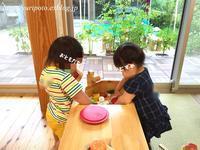 """《1歳7ヶ月》""""ぐりとぐら"""" な娘とお友達 - ゆりぽんフォト記"""