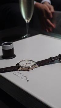 ランゲ Newブティックでの初納品式!! - a-ls 時計(Mechanical Watch Users News) blog.