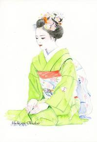 祇園甲部の舞妓さん2016-15 - 風と雲